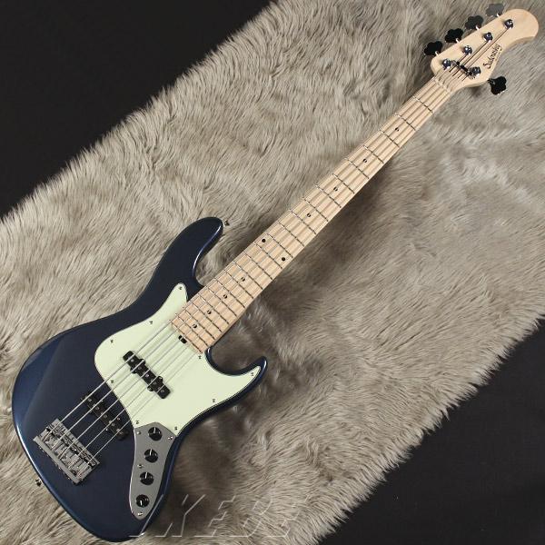 Sadowsky Guitars Metro Series MV5-WL(Dark Lake Placid Blue) 【受注生産品】