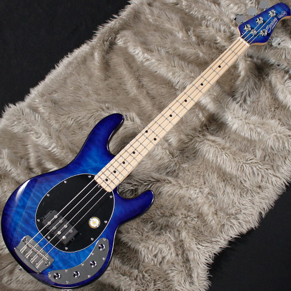 Sterling by MUSICMAN Ray34QM (Neptune Blue/Maple)