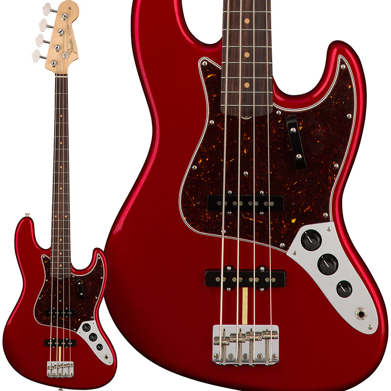 Fender USA American Original '60s Jazz Bass (Candy Apple Red) [Made In USA] 【お取り寄せ品】 【rpt5】 【FENDER THE AUTUMN-WINTER 2018 CAMPAIGN】 【FB1225ギグバッグプレゼント】, シロポッサ!北欧アンティーク bb6046a3