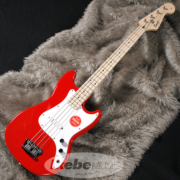Squier by Fender Bronco Bass (Torino Red) 【アウトレット特価】
