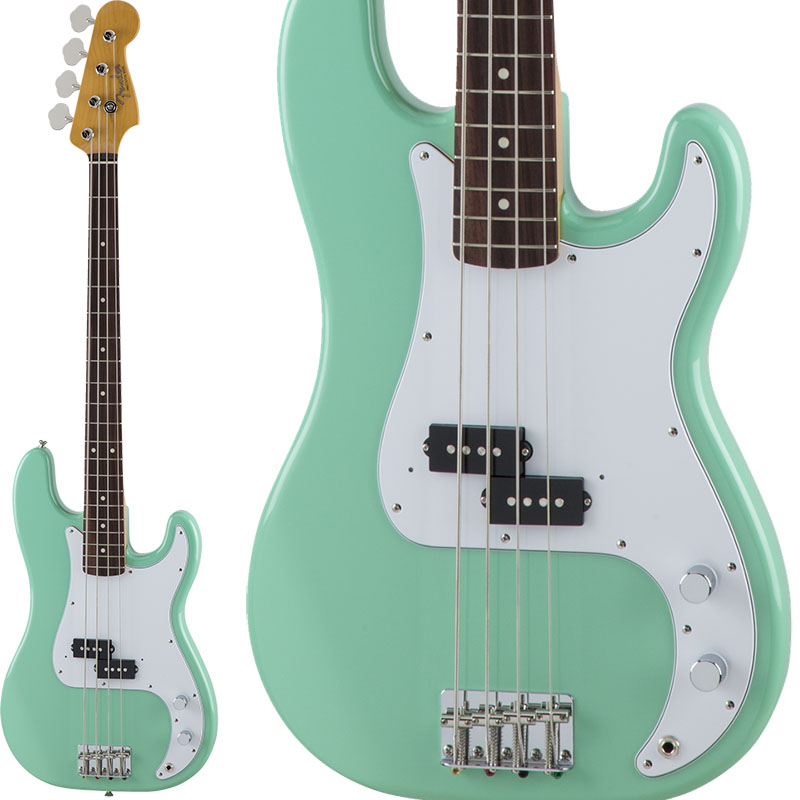 Fender Made in Japan Traditional Traditional 60s Precision Bass (Surf Green) [Made in Japan]【お取り寄せ品】 【rpt5】