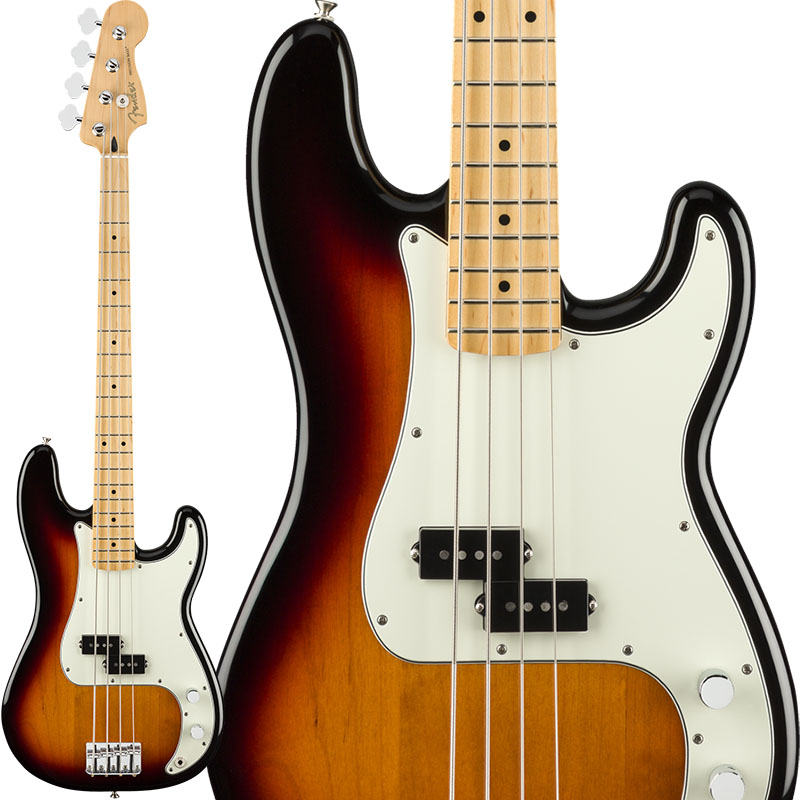 Fender MEX Player Precision Bass (3-Color Sunburst/Maple) [Made In Mexico] 【お取り寄せ商品】 【rpt5】