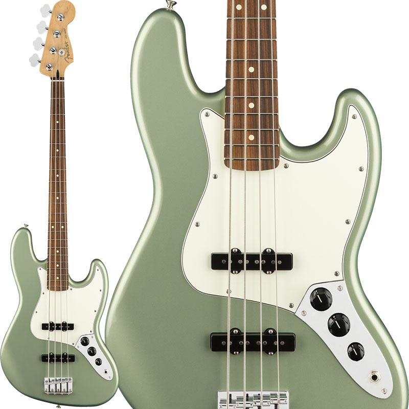 Fender MEX Player Jazz Bass (Sage Green Metallic/Pau Ferro) [Made In Mexico] 【お取り寄せ商品】 【rpt5】