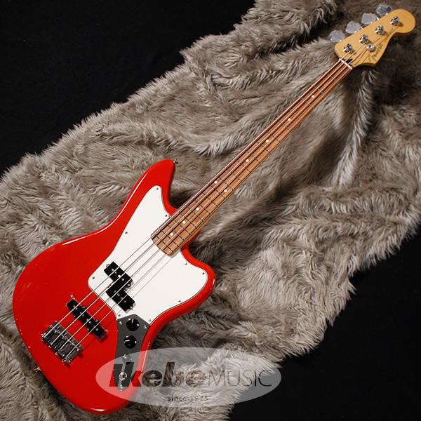 Fender MEX Player Jaguar Bass (Sonic Red/Pau Ferro) [Made In Mexico] 【即納可能】 【rpt5】