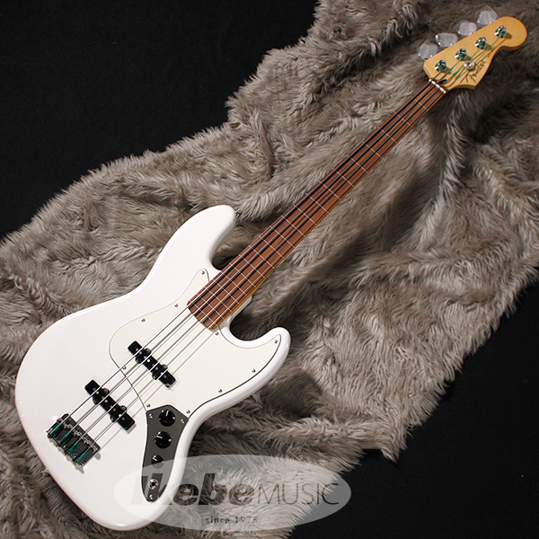 Fender MEX Player Jazz Bass Fretless (Polar White) [Made In Mexico] 【お取り寄せ品】 【rpt5】