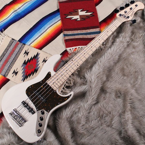 Sadowsky Guitars Metro Series MV5-WL (Trans White) 【受注生産品】 【期間限定Porta Bagグレードアップキャンペーン】