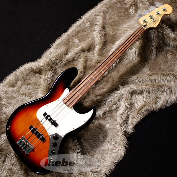 Fender MEX Bass Player Jazz (3-Color Bass Fretless (3-Color Sunburst) [Made [Made In Mexico]【お取り寄せ品】【rpt5】, キシマグン:a2d7fa5e --- nem-okna62.ru