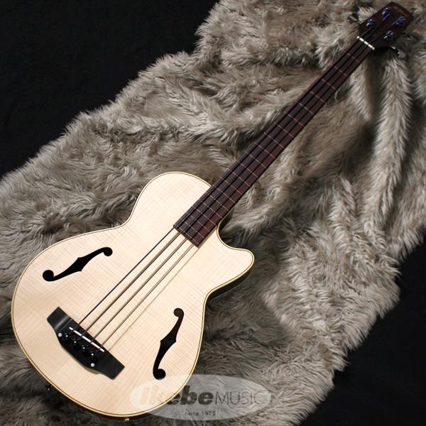 K.Yairi IKB-3 CTM Fretless w/Black Nylon Strings (NAT ※ライン有) [IKEBE Order Model]
