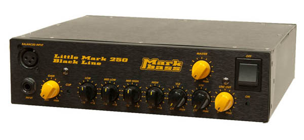 Mark Bass Little Mark 250 Black Line