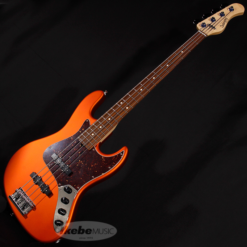 Sadowsky Guitars NYC Satin Series Vintage 4st (Alder/Morado/Candy Apple Orange)