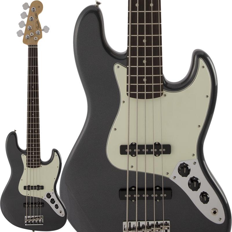 Fender Made in Japan Hybrid Hybrid Jazz Bass V (Charcoal Frost Metallic) 【FENDER THE SPRING-SUMMER 2019 CAMPAIGN】