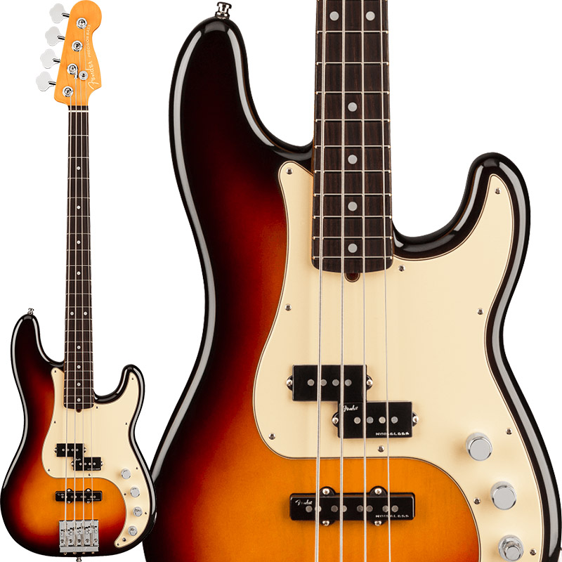 Fender USA American Ultra Precision Bass (Ultraburst/Rosewood) 【お取り寄せ品】 【rpt5】