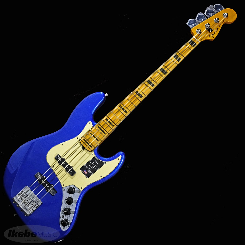 エレキベース フェンダー ジャズベース 10月以降入荷予定 Fender USA American Cobra お買い得 いつでも送料無料 Jazz Ultra Maple Bass Blue