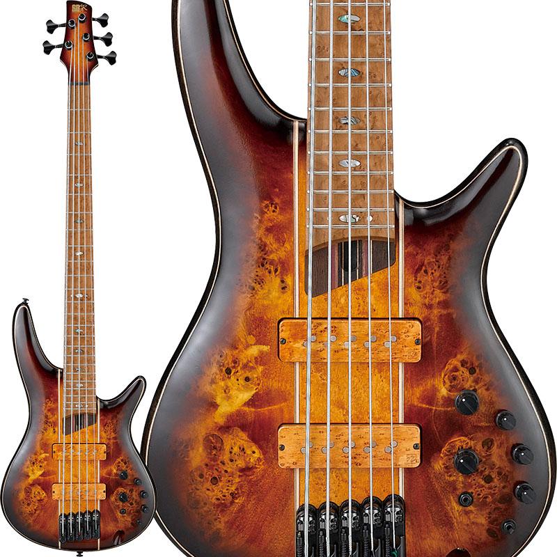 アイバニーズ 売買 エレキベース 5弦ベース Ibanez 限定モデル SR5PBLTD-DEL お得 Premium