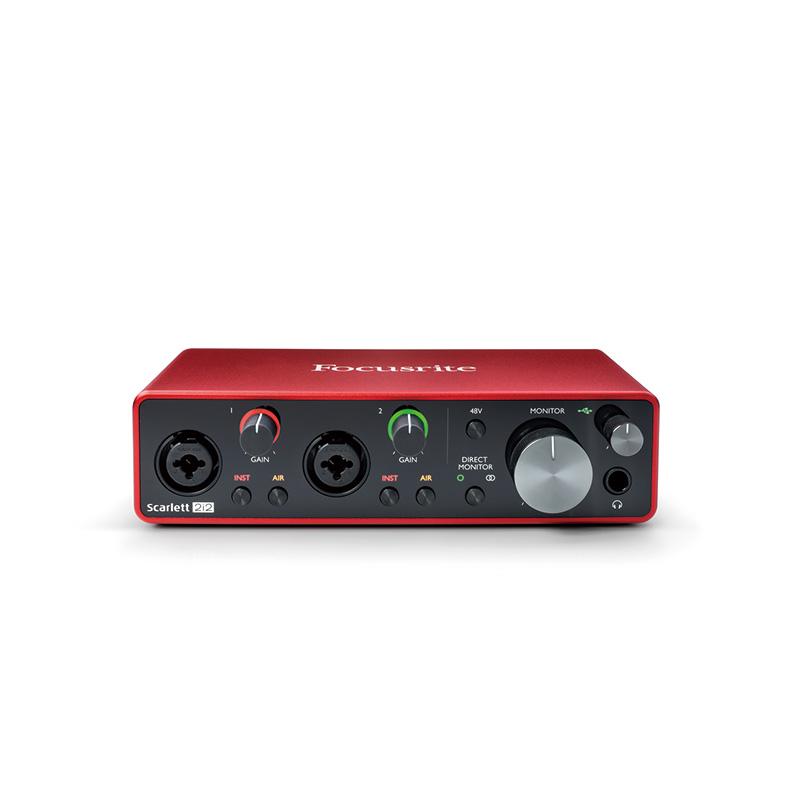 フォーカスライト オーディオインターフェース 大人気! あす楽 新品 即納可能 Focusrite 2i2 人気ショップが最安値挑戦 Scarlett 2x2 USB2.0 gen3 audioInterface