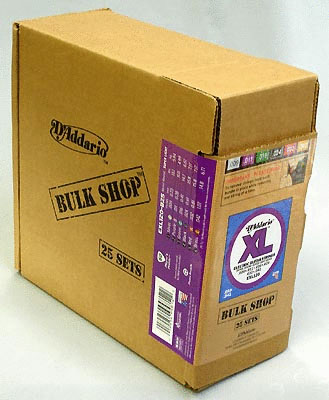 D'Addario BULK SHOP Nickel Wound [EXL120-B25]