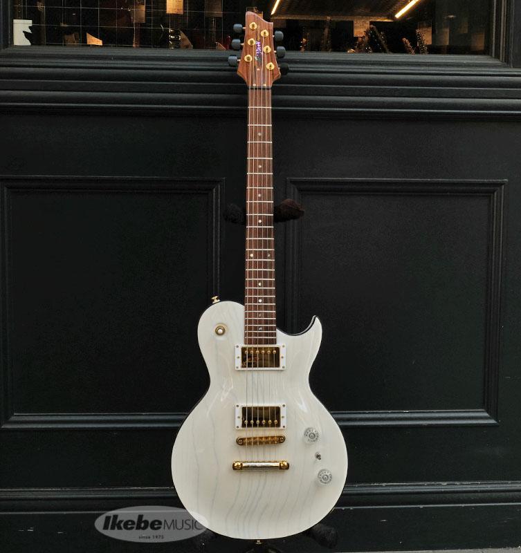 アリアプロ2 お見舞い エレキギター Aria ProII PE-J010 See-through White Japan in Made 特価 値引き