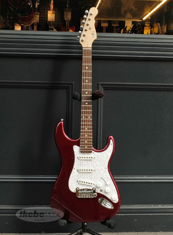 G&L Fullerton Series S-500 Basswood Body (Ruby Red Metallic/R) 【アウトレット特価】