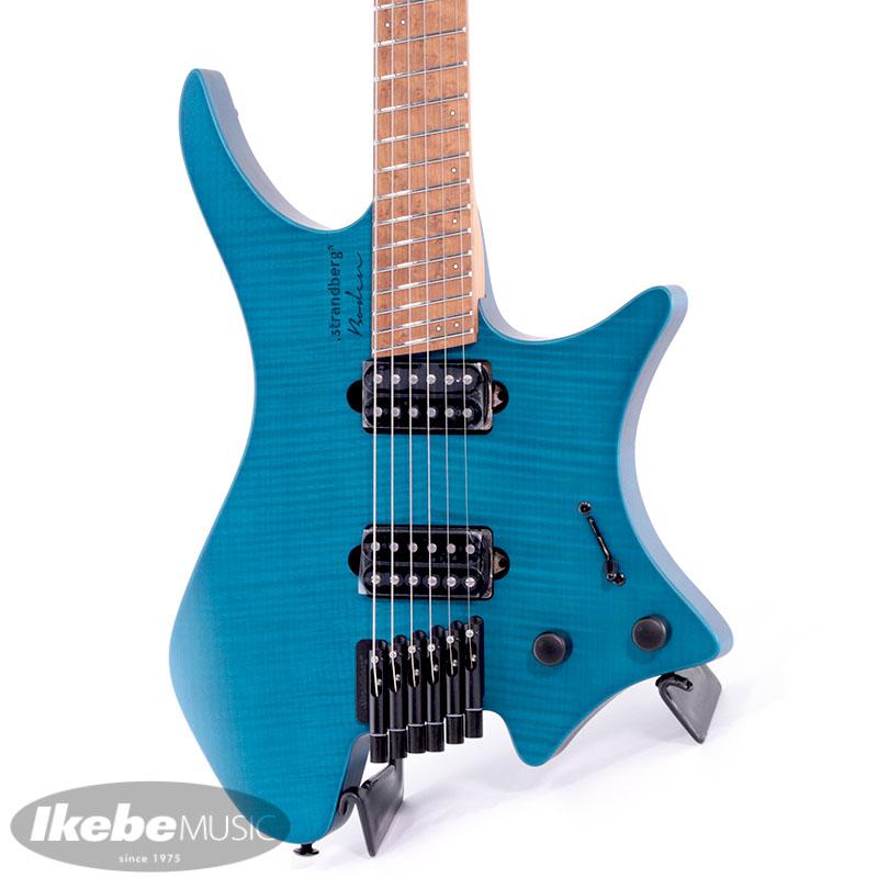 ストランドバーグ エレキギター Strandberg お見舞い Boden Original 新品 6 Blue