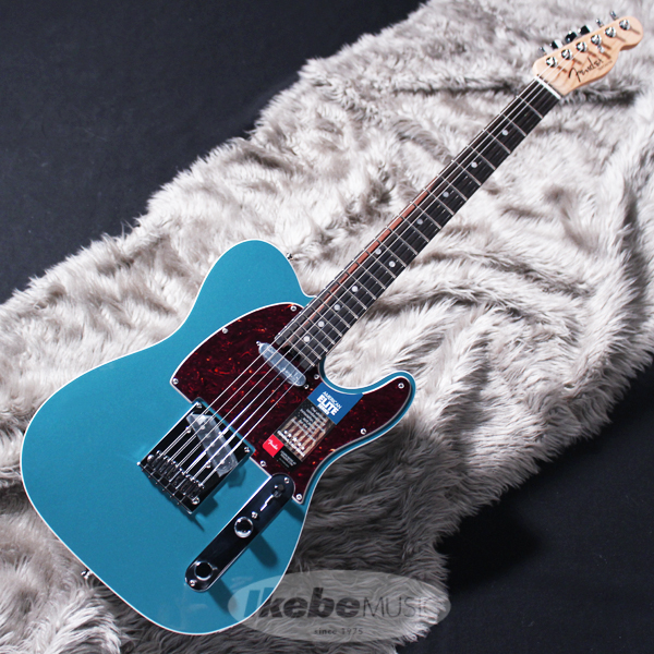 Fender USA American Elite Telecaster (Ocean Turquoise/Ebony) [Made In USA] 【rpt5】
