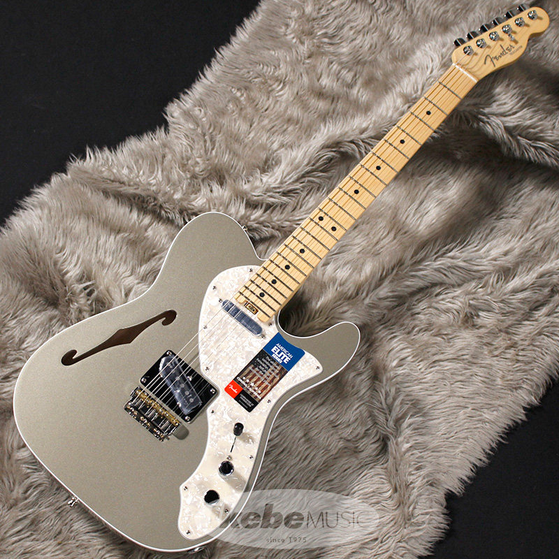 Fender USA American Elite Telecaster Thinline (Champagne/Maple) [Made In USA] 【アウトレット特価】