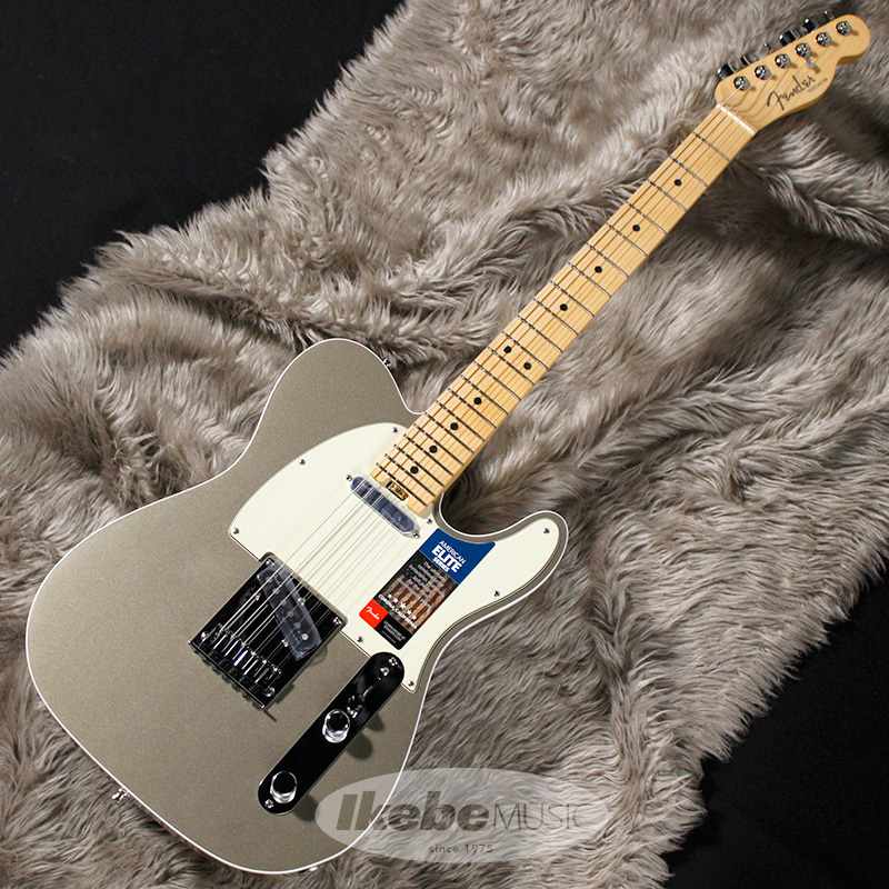 Fender USA American Elite Telecaster (Champagne/Maple) [Made In USA] 【rpt5】