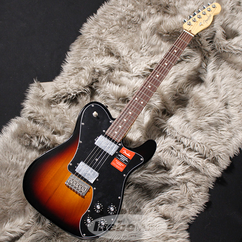 Fender USA American Professional Telecaster Deluxe Shawbucker (3-Color Sunburst/Rosewood) 【rpt5】