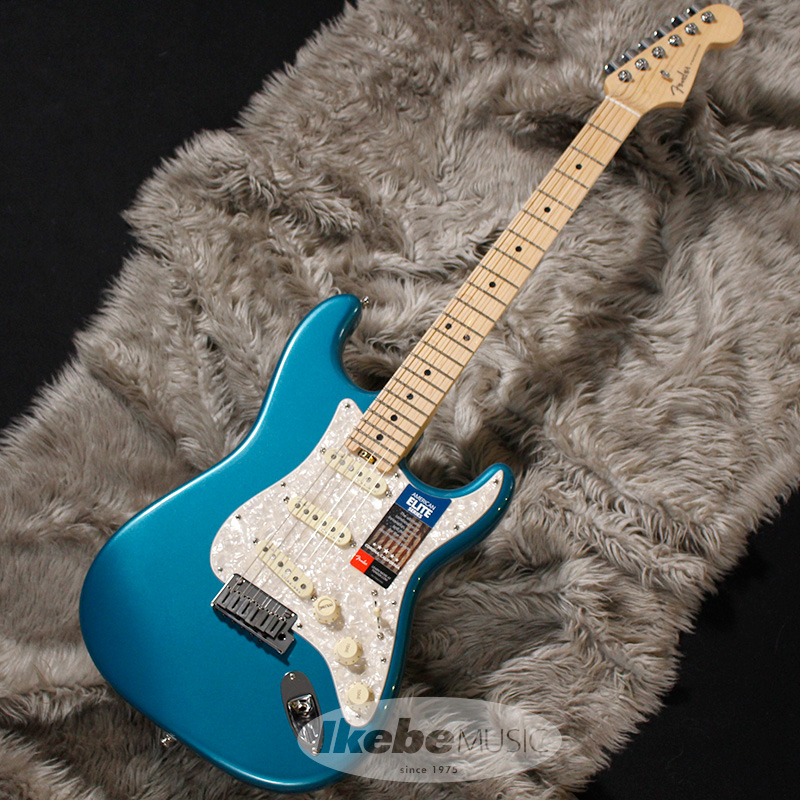 Fender USA American Elite Stratocaster (Ocean Turquoise/Maple) [Made In USA] 【rpt5】
