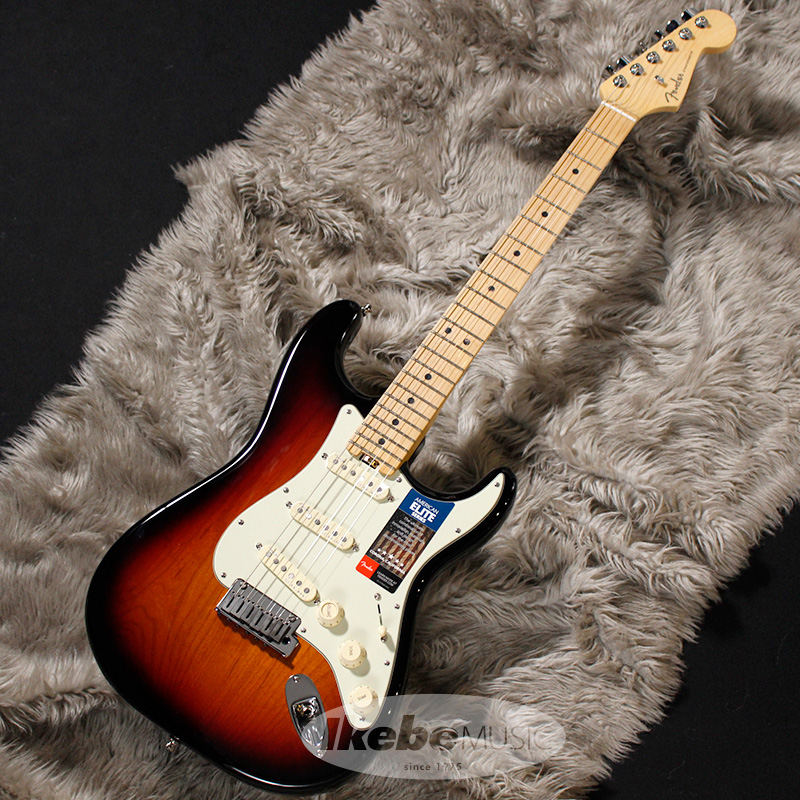 Sunburst/Maple) American Stratocaster Elite Fender USA (3-Color 【rpt5】