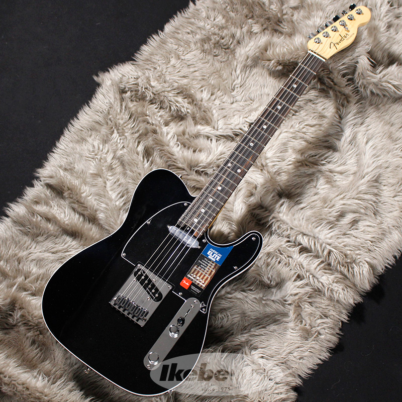 Fender USA American Elite Telecaster (Mystic Black/Ebony) 【rpt5】