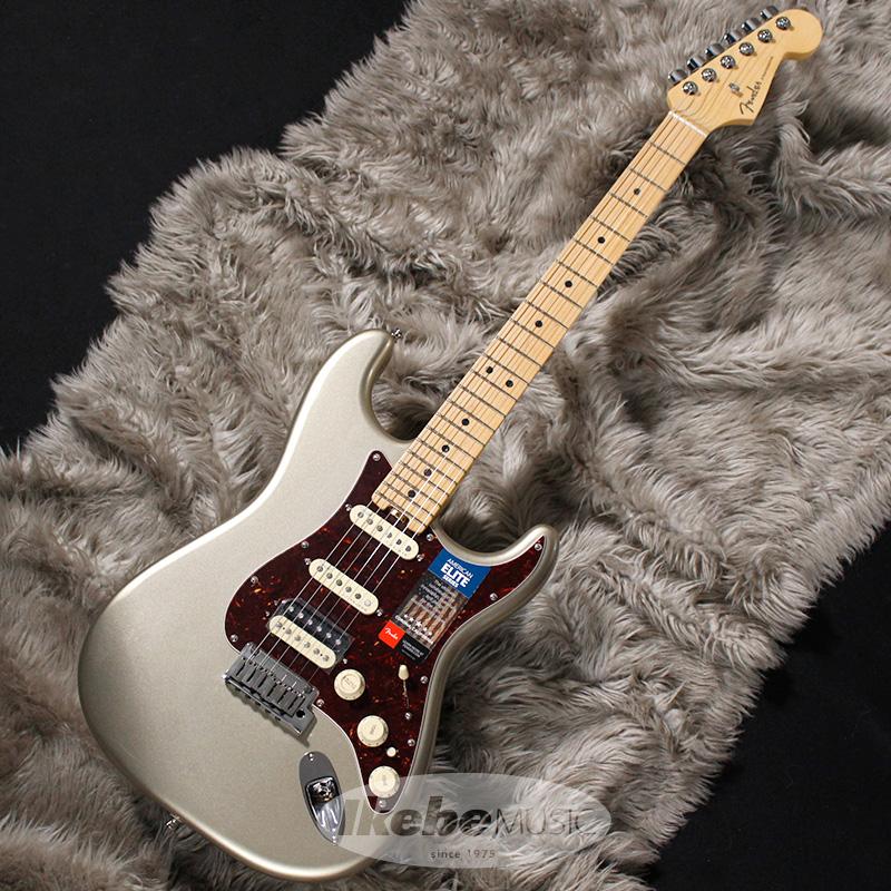 Fender USA American Elite Stratocaster HSS Shawbucker (Champagne/Maple) 【アウトレット特価】