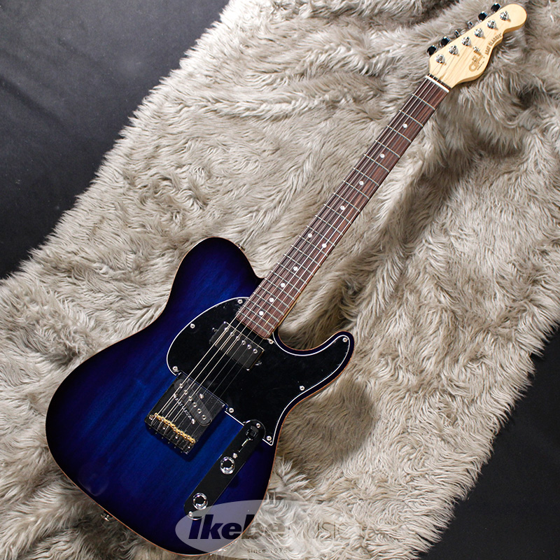 G&L USA Custom Series ASAT Classic Bluesbody (Blueburst/R)