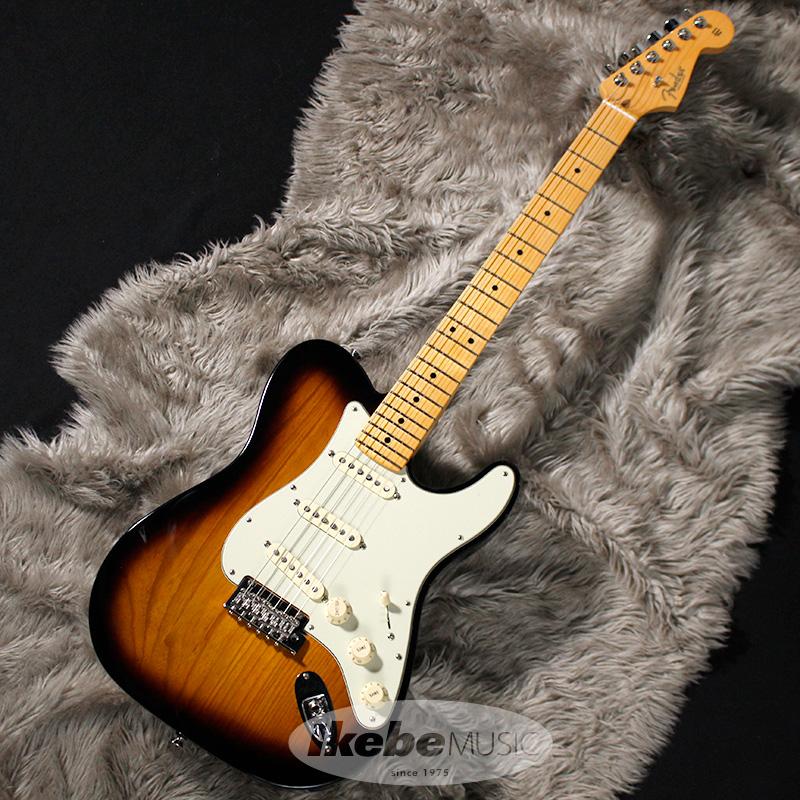 Fender USA Limited Edition Parallel Universe Strat-Tele Hybrid (2-Color Sunburst/Maple) 【rpt5】