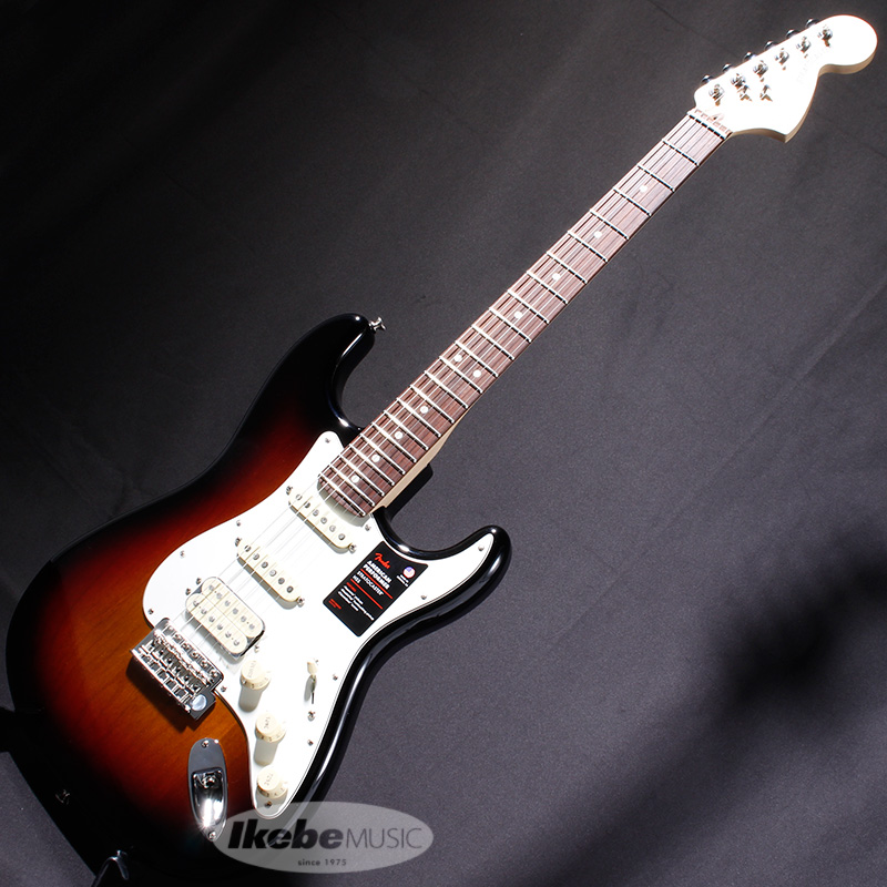 Fender USA American Performer Stratocaster HSS (3-Color Sunburst) [Made In USA] 【rpt5】 【FENDER THE SPRING-SUMMER 2019 CAMPAIGN】