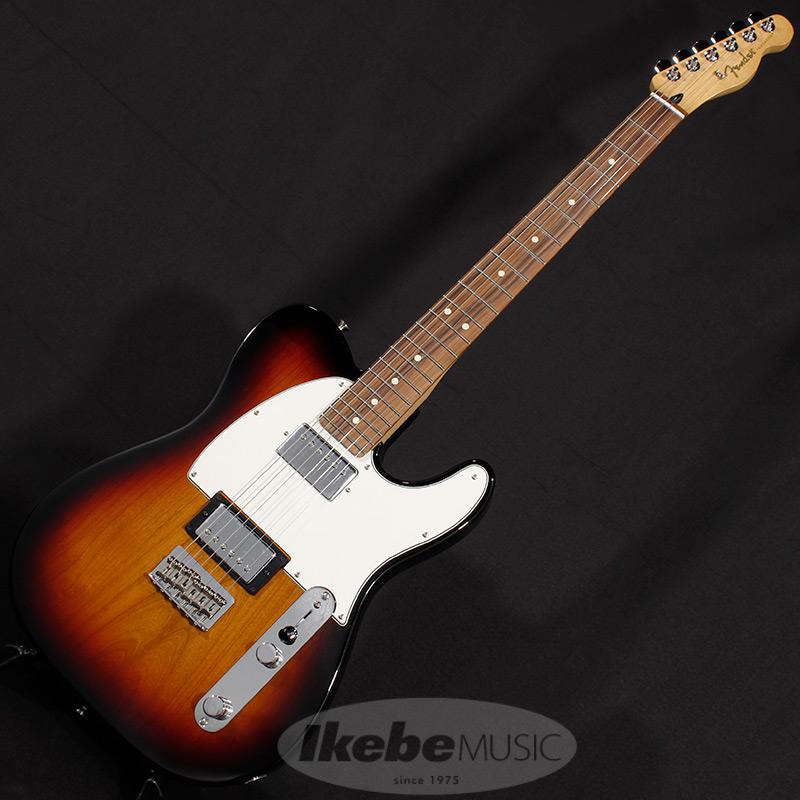 Fender MEX Player Telecaster HH (3-Color Sunburst/Pau Ferro) [Made In Mexico] 【rpt5】
