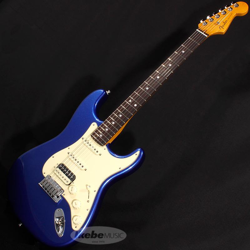 Fender USA American Ultra Stratocaster HSS (Cobra Blue/Rosewood) 【rpt5】