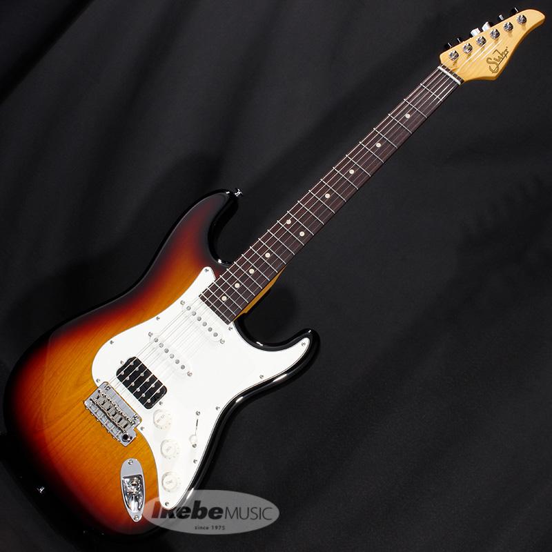 Suhr Guitars Core Line Series Classic S SSH (3 Tone Burst/Rosewood) 【SN.JS2C3L】