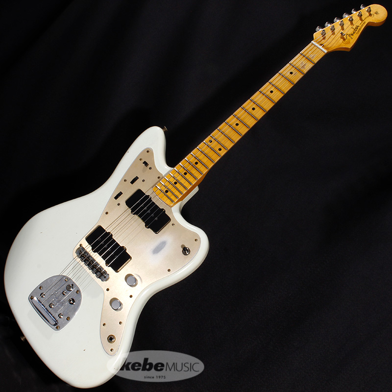 Fender Custom Shop 2020 NAMM SHOW Limited Edition Vintage Custom 1958 Jazzmaster Journeyman Relic Aged Olympic White 【rpt5】