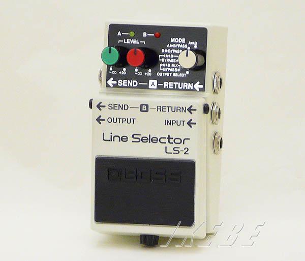 BOSS LS-2 (Line Selector) 【期間限定★送料無料】 【rpt5】