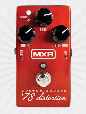 MXR Custom Badass '78 Distortion M78