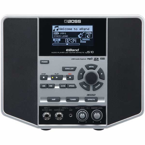 BOSS eBand JS-10 [AUDIO PLAYER with GUITAR EFFECTS]【期間限定★送料無料】 【rpt10】