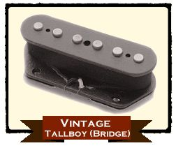RIO GRANDE VINTAGE TALLBOY TELE BRIDGE 【BLACK】