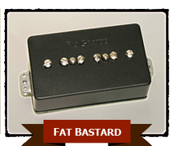 RIO GRANDE FAT BASTARD for HUMBUCKING 【BLACK】