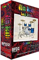 ●Platinum Samples Jim Scott Rock Drums Vol.1