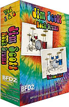 ●Platinum Samples Jim Scott Rock Drums Vol.1&2 Combo