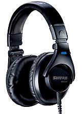 SHURE SRH440 [高音質モニターヘッドフォン] 【安心の正規輸入品】
