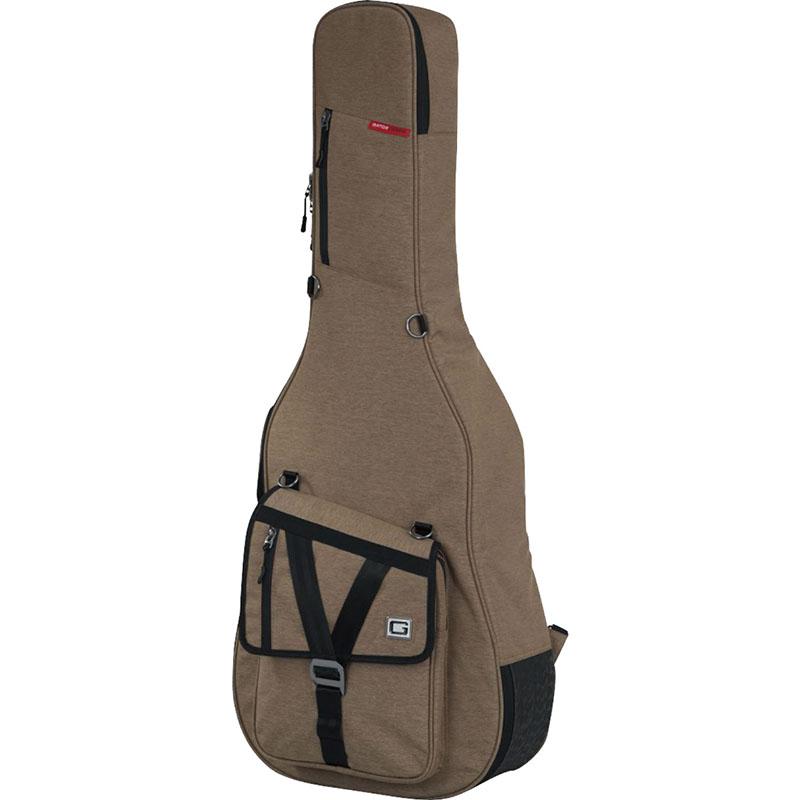 ケース GATOR アコースティックギター用セミハードケース 美品 新発売 GT-ACOUSTIC-TAN