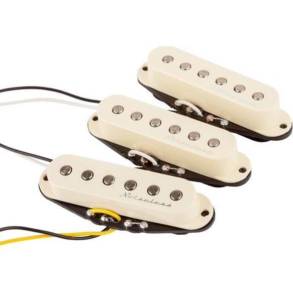 Fender Hot Noiseless Strat Pickups (Aged White)