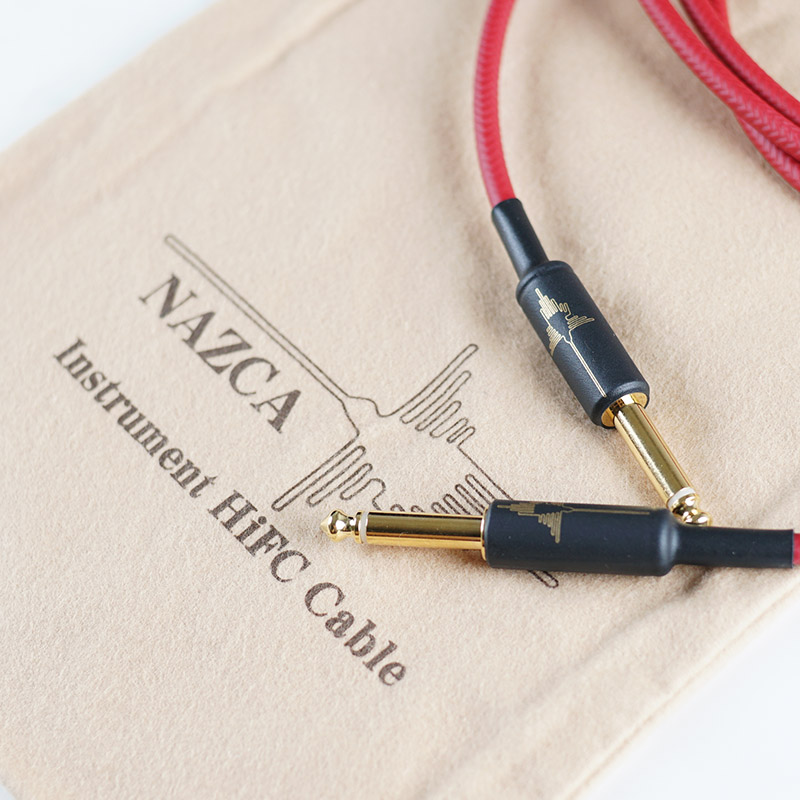 """NAZCA Instrument HiFC Cable """"Red"""" 7m S/S"""