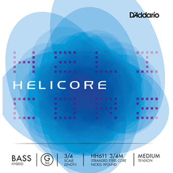 Helicore (D'Addario Bowed Strings) Hybrid Bass Strings HH610